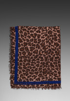Marc by Marc Jacobs Leonora Leopard Scarf