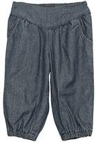 Wheat Baby Girls' Soft Denim Trousers