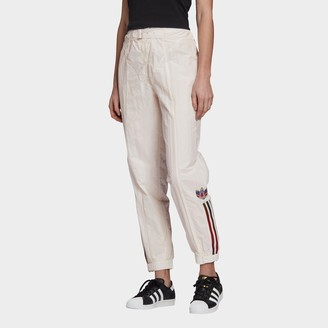 adidas Women's Paolina Russo Belted Nylon Jogger Pants