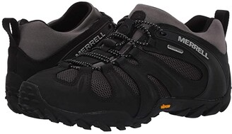 Merrell Chameleon 8 Stretch Waterproof (Black/Grey) Men's Shoes