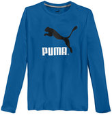 Puma Boys' Big Cat Long Sleeve T-Shirt