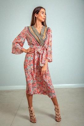 Inoa - Bell Sleeve Dress Aleppo - 0/Small