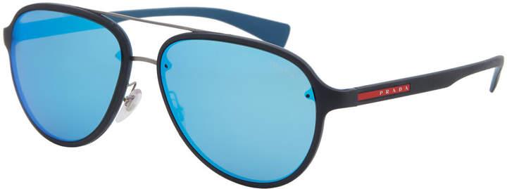bc8e8febdd5a6 Prada Sport Sunglasses Men - ShopStyle