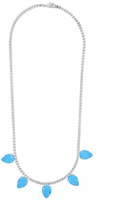 Rosaspina Firenze Five Drops Necklace In Azure Blue