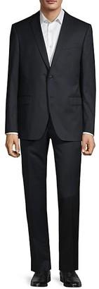 John Varvatos Bedford-Fit Wool-Blend Suit