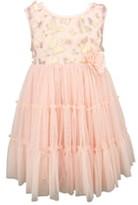 Popatu Metallic Butterfly Tulle Dress
