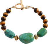 Barse FINE JEWELRY Art Smith by Turquoise & Tigers Eye Bracelet
