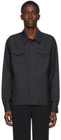 Undercover Grey Wool Overshirt Jacket