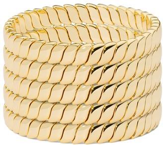Roxanne Assoulin Smooth Moves bracelet set of 5