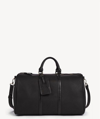 Sole Society Women's Cassidy Weekender Vegan Leather In Color: New Black Bag From