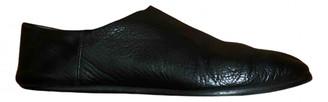 Maison Margiela Tabi Black Leather Lace ups