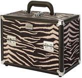 S.O.H.O New York Zebra Print Vanity Case