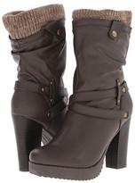 UNIONBAY Bailey Sweater Heel Boot