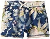 Ralph Lauren Floral Print Pull-On Shorts Girl's Shorts