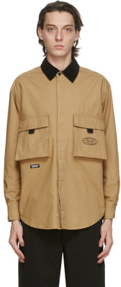This Is Never That thisisneverthat Beige Oxford Cargo Shirt
