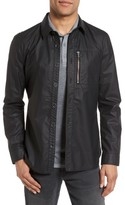 John Varvatos Men's Zip Pocket Shirt Jacket
