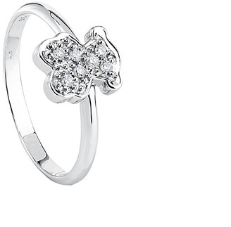 Tous Bear 18K Diamond Ring