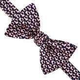 Thomas Pink Jumping Fox Print 'Self Tie' Bow Tie