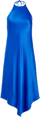 Alice + Olivia Francene Handkerchief Hem Midi Dress