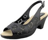 Easy Street Shoes Kaley Women Open-toe Synthetic Slingback Heel.