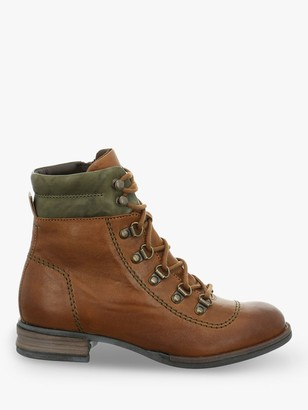 Josef Seibel Sanja 09 Kombi Lace Up Leather Ankle Boots