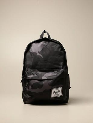 Herschel Backpack In Camouflage Canvas