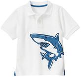 Gymboree Shark Pique Polo Shirt