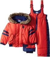 U.S. Polo Assn. US Polo Association Baby-Boys Infant Polyfilled Puffer Snowsuit