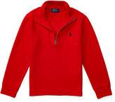 Ralph Lauren Half-Zip Pullover Sweater, Size 2-7