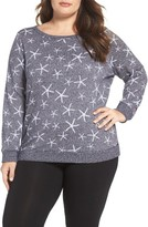 Make + Model Plus Size Women's Liberty Lounge Sweatshirt