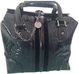 Gucci Blue Patent leather Handbag Boston