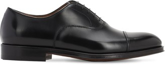 Doucal's Leather Oxford Cap Toe Shoes