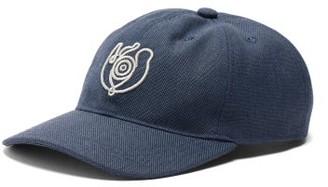 eye/LOEWE/nature Eye-logo Canvas Baseball Cap - Blue