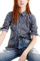J.Crew Women's Liberty Catesby Floral Perfect Shirt