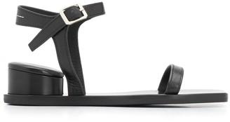 MM6 MAISON MARGIELA exposed cylindrical heel sandals