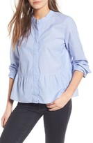 Madewell Women's Lakeside Peplum Shirt