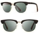 Shwood 'Eugene' 54mm Polarized Wood Sunglasses