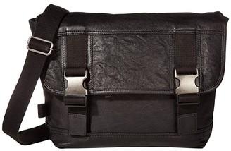 Frye AND CO. Cody Messenger (Black) Messenger Bags