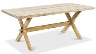 Sarreid Ltd. Roman Dining Table Antiqued Oak