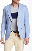 Gant R. Summer Twill Two Button Peaked Lapel Blazer