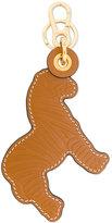 Loewe textured lion key ring