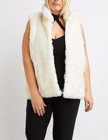 Charlotte Russe Plus Size Faux Fur Vest