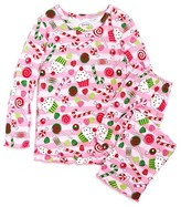 Sara's Prints Infant Girls' Visions of Sugarplums Pajama Set - Sizes 12-24 Months
