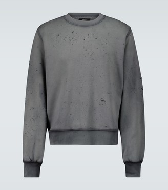 Amiri Washed shotgun sweatshirt