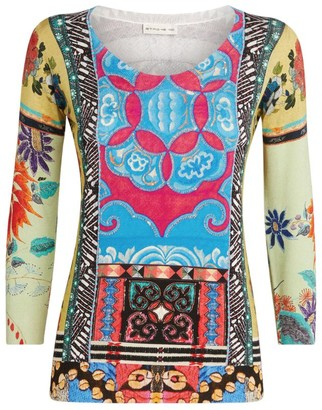 Etro Scoop Neck Patterned Sweater