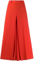 Ami Paris high-waist cropped trousers