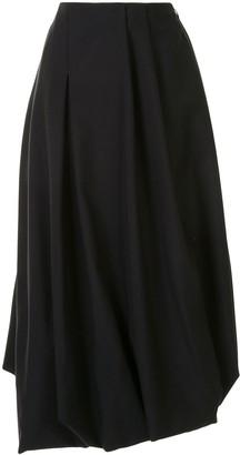 Enfold Flared Midi Skirt
