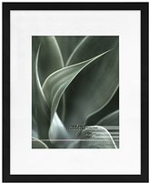 MCS Framatic Modern 16x20 Inch Frame Matted for 11x14 Inch Photo, Black (302197)