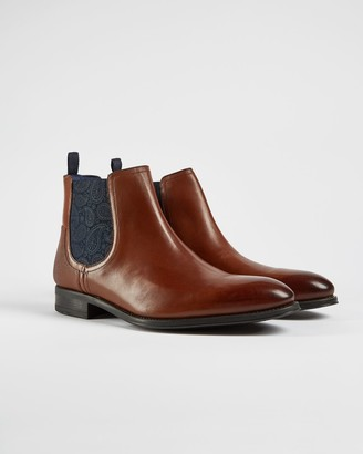 Ted Baker Classic Leather Chelsea Boots