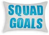 "Alexandra Ferguson Squad Goals Decorative Pillow, 10"" x 14"" - 100% Exclusive"